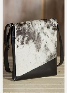 c3831bab04 Women s Eckert Medium Cowhide Crossbody Handbag by Overland Sheepskin Co.  Michelle Goolsby · Leather Purses   Bags