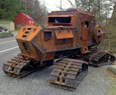 All Terrain Vehicle Oh what a wonderful steam tractor!Oh what a wonderful steam tractor! Cool Trucks, Big Trucks, Cool Cars, Offroad, Zombie Apocalypse Survival, Zombie Survival Vehicle, Apocalypse Gear, Zombie Apocolypse, Bug Out Vehicle