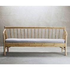 Bamboo Sofa - Grey Cushion