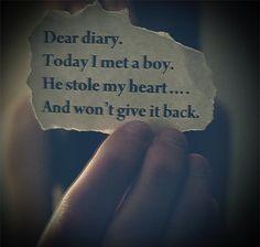 #quote #boystolenmyheart