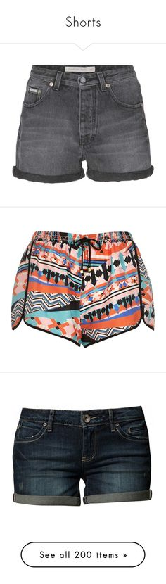 """""""Shorts"""" by attackontitan169 ❤ liked on Polyvore featuring shorts, bottoms, short, high waisted short shorts, highwaist shorts, cotton shorts, cuffed shorts, high waisted zipper shorts, pajamas and sale"""