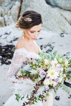 Ethereal Seaside Bridal Inspiration by Astrid Bradley | SouthBound Bride