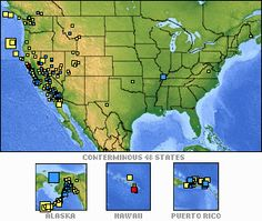USGS...Everything you need to know about earthquakes-you can even sign up to be notified when one happens world-wide!