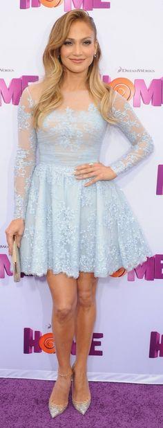 Jennifer Lopez in Zuhair Murad. Adore this dress