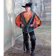 View Larger Photo of Italian Doublet Renaissance Collection Adult Costume
