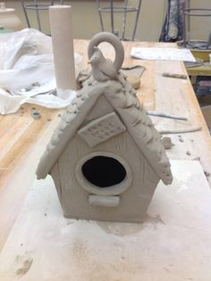 How to Make a Clay Birdhouse