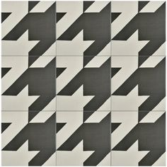 SomerTile 7.875x7.875-inch Piccola Black and White Tweed Porcelain Floor and Wall Tile (25 tiles/11.46 sqft.)
