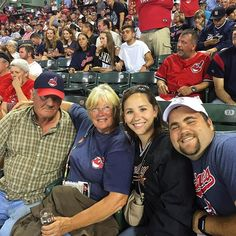 Took the neighbors to the ball game! #cle #windians #tribelive #tribetown