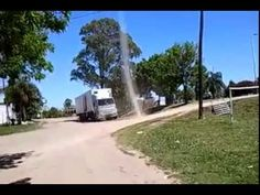 Tornado caught on camera Man survives to film eye from inside - YouTube