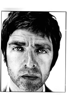 Noel Gallagher Portrait by photographer David Bailey Noel Gallagher, Great Photographers, Portrait Photographers, Artistic Photography, Fashion Photography, White Photography, David Bailey Photographer, Rock Bands, Brian Duffy