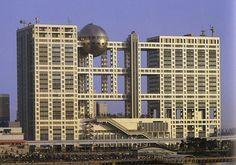 Fuji television building (Tokio, Japón)