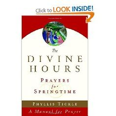 The Divine Hours Prayers by Phyllis Tickle