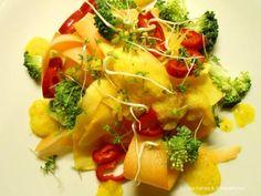 Karottenbandnudeln - raw food