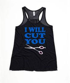 I Will Cut You ~ Hooded Sweatshirt ~ Tee ~ Tank by LCWear13 on Etsy