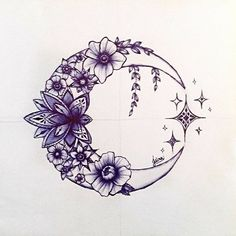 You could change the stars to the Cancer constellation. You could change the stars to the Cancer constellation. You could change the stars to the Cancer constellation. Star Tattoos, Body Art Tattoos, Tatoos, Moon Star Tattoo, Galaxy Tattoos, Half Moon Tattoo, Tattoos Skull, Tattoo Mond, Small Tattoos