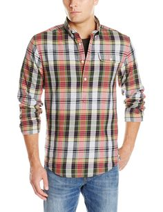 GANT by Michael Bastian Men's The Billy Check Flannel Shirt ...