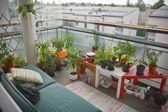 Cute Balcony Garden