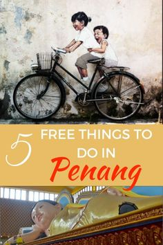 Guide and tips for free things to do in Penang with Kids. See what this city in Malaysia has to offer families for cheap and with many unique attractions. Borneo, Kuala Lumpur, Travel With Kids, Family Travel, Laos, Penang, Malaysia Travel Guide, Vietnam, Travel Advice