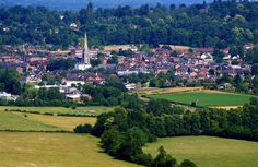 View Of Dorking