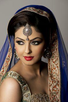 Cute Beauty, Beauty Full Girl, Beauty Women, Beautiful Girl Image, Gorgeous Women, Indian Face, Indian Bridal Makeup, Asian Bridal, Exotic Beauties