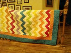 Such a fun and easy quilt.
