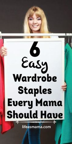 6 Easy Wardrobe Staples Every Mama Should Have