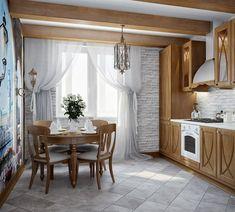 Идея для дизайна кухни. Как вам?