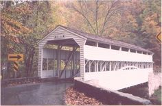 covered bridges have lots of stories !  Amish country-Lancaster, PA