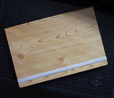 Woodgrain iPad Case