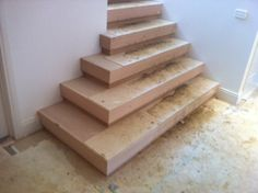Staircase before Fowles Carpet