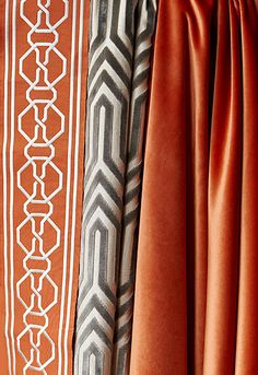 orange and gray textiles - sound proofing