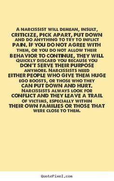 quotes about narcissist 69 quotes Narcissist Quotes quotes about narcissist 69 q. - quotes about narcissist 69 quotes Narcissist Quotes quotes about narcissist 69 q… quotes about na - Narcissistic People, Narcissistic Mother, Narcissistic Behavior, Narcissistic Sociopath, Narcissistic Personality Disorder, Abusive Relationship, Toxic Relationships, Dysfunctional Relationships, Relationship Quotes