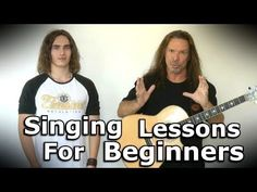 Singing Lessons For Beginners - Learn How To Sing For Beginners - Coach - Ken Tamplin Vocal Academy Singing Lessons For Beginners, Vocal Lessons, Singing Tips, Piano Lessons, Music Lessons, Guitar Lessons, Sara Bareilles, Singing Techniques, Attitude