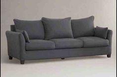 Charcoal Grey Sofa Slipcover