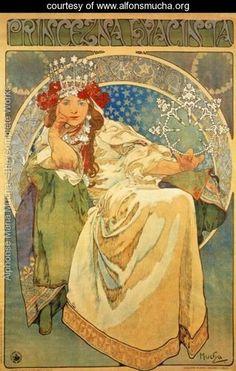 Princess Hyacinth, 1911 - Alphonse Maria Mucha - www.alfonsmucha.org