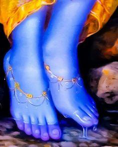 Shri Krishna Charan kanha tere charano me saari umar beet jaye ye dua maan le mari jindagi sawer jaaye Jai Shree Krishna, Radha Krishna Love, Krishna Radha, Radha Rani, Hindus, Hare Rama Hare Krishna, Little Krishna, Radha Krishna Wallpaper, Radha Krishna Pictures