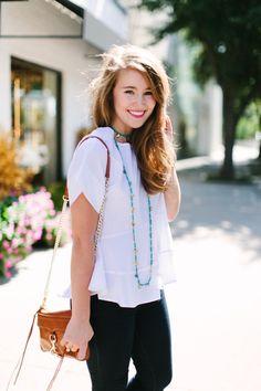 the little white blouse