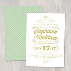 Hey, I found this really awesome Etsy listing at http://www.etsy.com/listing/162396258/i-do-gold-foil-custom-wedding-invitation