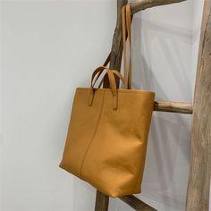 Womens Vertical Leather Tote Bag Purse - Annie Jewel Work Tote, Shopper Bag, Black Tote Bag, Tote Handbags, Annie, Bucket Bag, Leather Bag, Purses And Bags, Totes