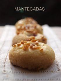Bocados dulces y salados: MANTECADAS