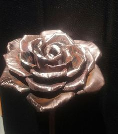 how to make a copper rose