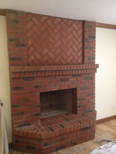 Home Fireplace, Brick Fireplace, Modern Architecture Design, Urban Decor, Brick Design, Brick And Mortar, Brickwork, My Dream Home, Decoration
