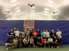 Queens College Men's and Women's Tennis Host a 'Social Knights' Fundraiser for Staff and Faculty - Queens (N.Y.) College (Camelia ABDELLAH)