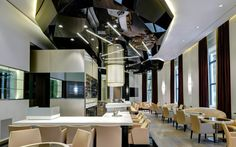 Excelsior Hotel Gallia, Milan - Architect + Lighting designer: Marco Piva – Lighting products: iGuzzini Illuminazione – Photo by Andrea Martiradonna #Trick #Graphiclighting #iGuzzini #Lighting #Light #Luce #Lumière #Licht #Inspiration #Architecture #Architettura #Effetti #LightingEffect #Hotel #iN30