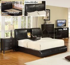 New Espresso California King Size Platform Bed with Fold Down Tray by Furniture of America, http://www.amazon.com/dp/B004RBXWBC/ref=cm_sw_r_pi_dp_e.V2qb1J24Y3V
