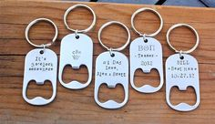 Hey, I found this really awesome Etsy listing at https://www.etsy.com/dk-en/listing/112511770/personalized-bottle-opener-key-chain