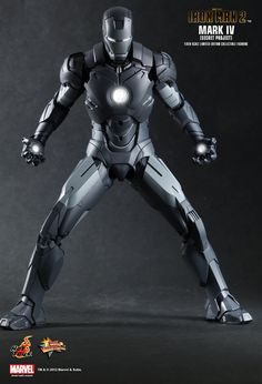 Hot Toys : Iron Man 2 - Mark IV (Secret Project) 1/6th scale Limited Edition Collectible Figurine