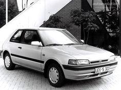 Specs, photos, engines and other data about MAZDA 323 (BG) Hatchback 1989 - 1994 Evolution, Mazda Familia, Mazda Cars, Car Tuning, Vehicles, Model, 1980s, Bass, Japanese