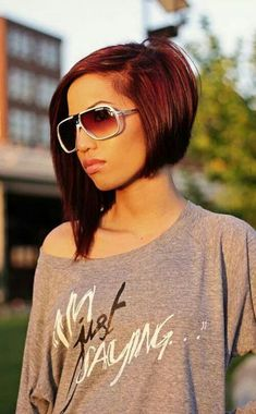 Had this cut and color! If I ever go short again this is what I'll go back to!!!