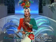 """More musical numbers from """"Week-End in Havana"""" appear on my Alice Faye channel, and more coming soon to this Carmen Miranda channel!"""